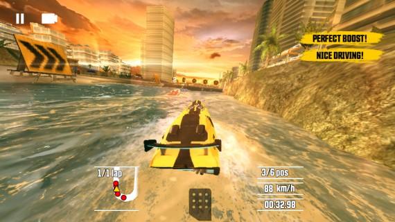Игра Driver Speedboat Paradise