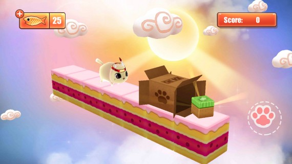 Игра Kitty in the Box