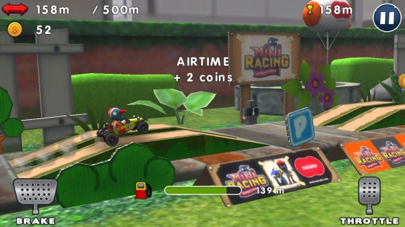 Игра Mini Racing Adventures
