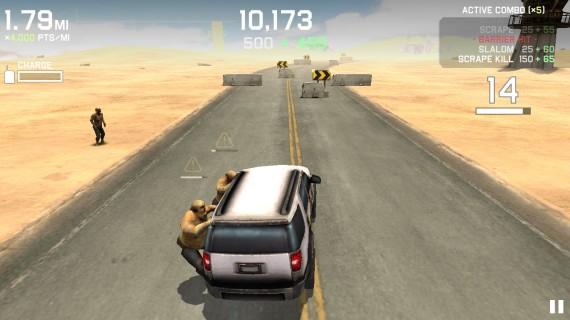 Игра Zombie Highway Drivers Ed