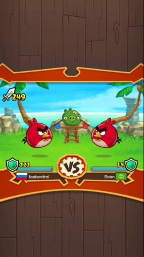 Аркада Angry Birds Fight
