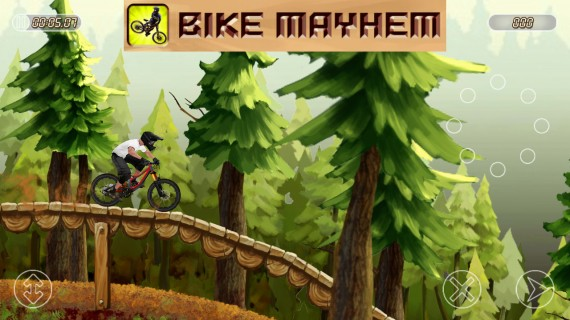 Игра Bike Mayhem