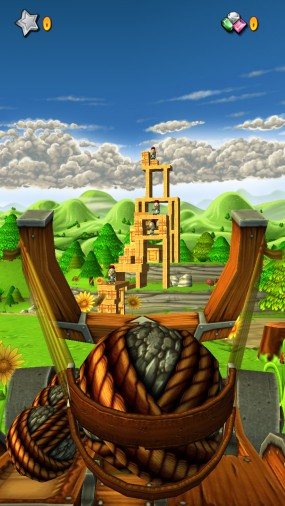 Игра Catapult King