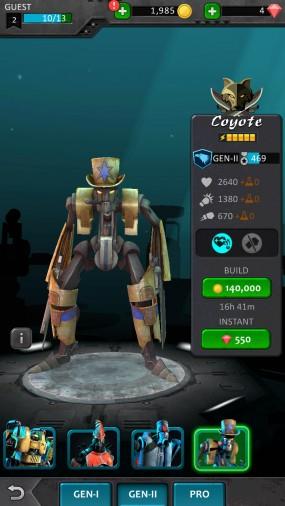 Бои между роботами в игре Ironkill