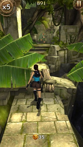 Раннер Lara Croft Relic Run