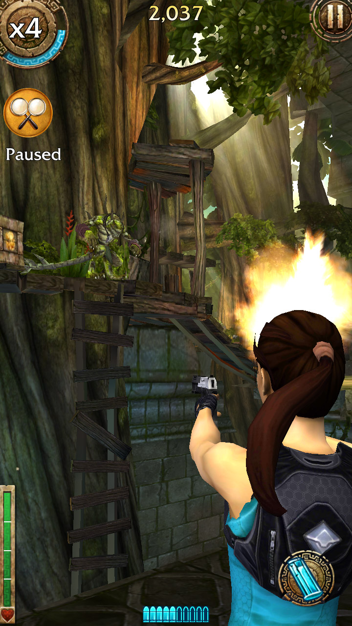 Relic Run :Lara Croft Android smartphone : Parte 1 - YouTube