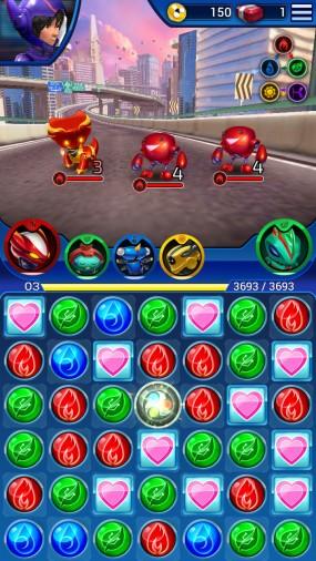 Игра Big Hero Bot Fight