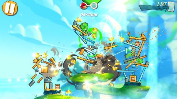 Angry Birds 2 противостояние злых птиц