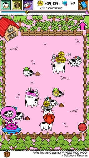 Игра Cow Evolution