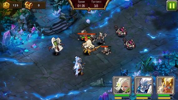 Стратегия Magic Rush Heroes