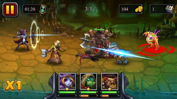 Heroes X Darkness для Android