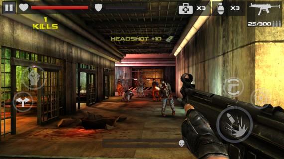 Уничтожайте зомби в DEAD TARGET Zombie