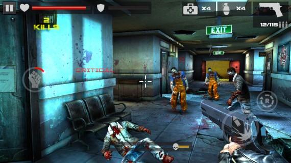 Игра DEAD TARGET Zombie