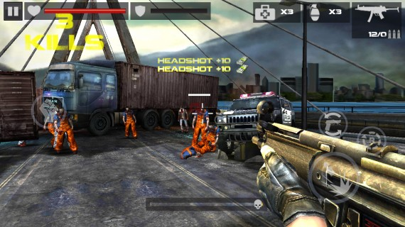 DEAD TARGET Zombie для Android