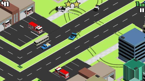 Smashy Road Wanted для Android