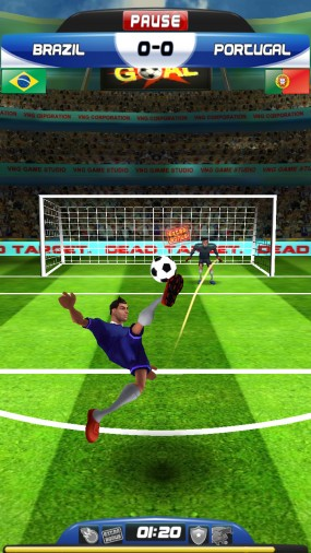 Спортивная игра World Cup Run