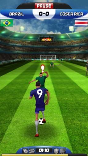 Забивайте голы в World Cup Run