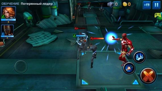 Сражайтесь против тёмной силы в MARVEL Future Fight