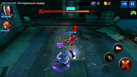 Экшен-RPG MARVEL Future Fight