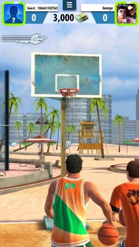 Симулятор бросков Basketball Stars