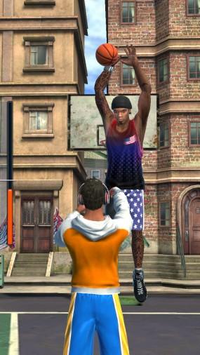 Качественный симулятор бросков Basketball Stars
