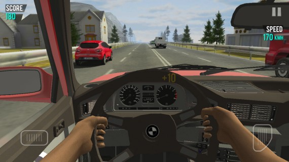 Racing in Car для Android