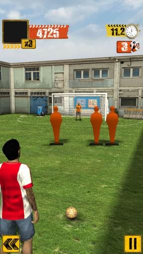 Симулятор уличного футбола Street Soccer Flick