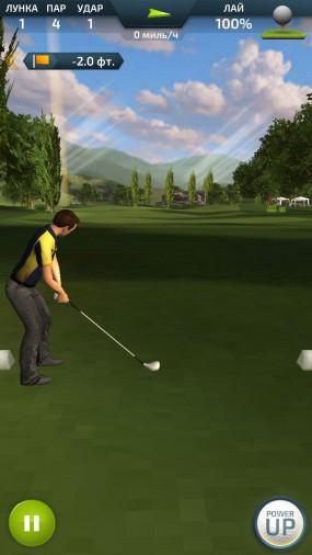 Реалистичный Pro Feel Golf