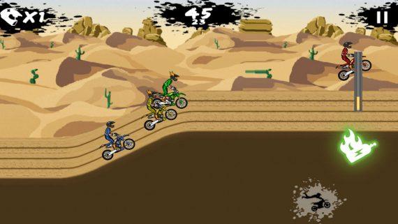 Мотокросс Stunt Extreme BMX boy