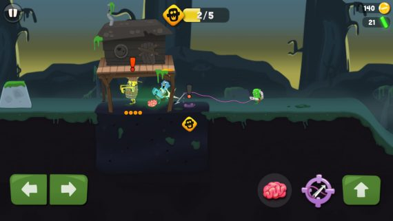Игра Zombie Catchers
