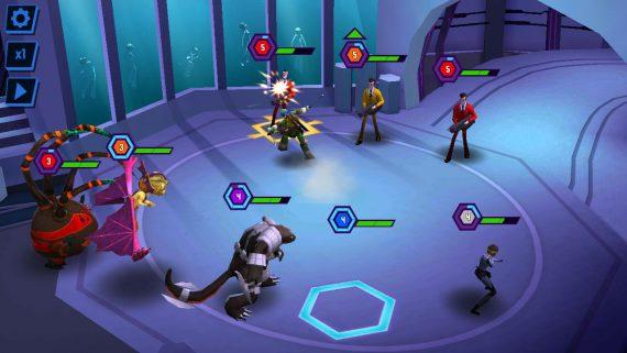 Пошаговая игра Ninja Turtles Legends