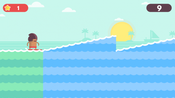Surfingers для Android