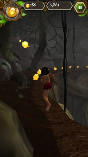 Приключения в джунглях The Jungle Book Mowglis Run