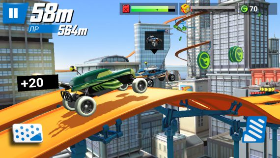 Игра hot wheels race off