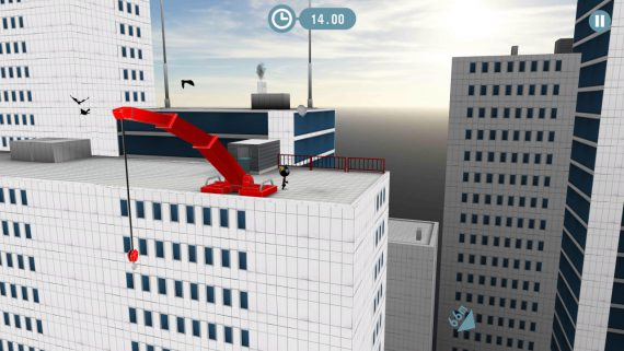Игра stickman base jumper 2